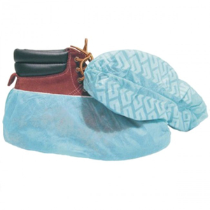 xl anti skid polypropylene medical surgical shoe covers for hospital