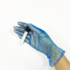 Chemical resistance synthetic powder free vinyl exam gloves