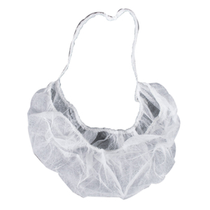 Grey hygienic cleanroom disposable beard guard