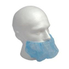 Blue large non woven disposable beard cover for food industry