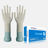 Large pre powdered disposable heavy duty Latex Gloves