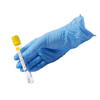 Wholesale light blue medical examination disposable nitrile gloves with durable quality