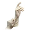 Disposable sterile powdered latex surgeon's gloves