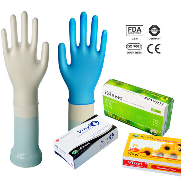 Accelerate innovation pvc gloves nitrile gloves to enter the market