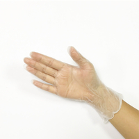 Medium multi-purpose disposable powder free vinyl gloves