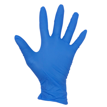 pk100 dark blue disposable nitrile cleanroom gloves