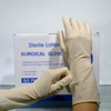 Sterile pre powdered disposable latex surgical gloves