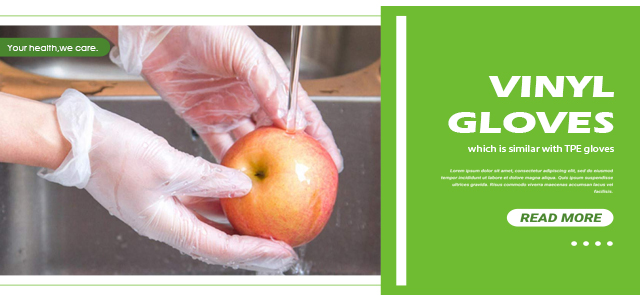 Can reusable gloves be used in food processing?