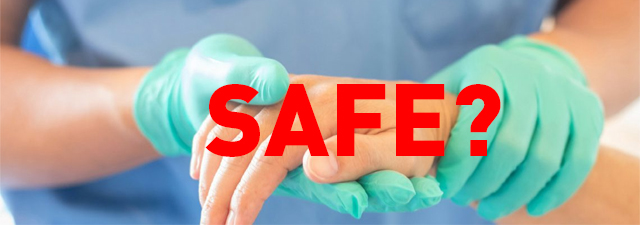 What are the safest disposable gloves?