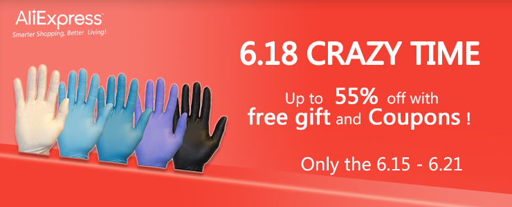 618 Crazy Promotion in Our Aliexpress Store!