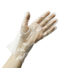 Thermoplastic elastomers clear TPE disposable hand glovess for Food Processing