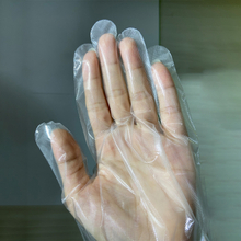 Cast Polyethylene disposable CPE Gloves for food service